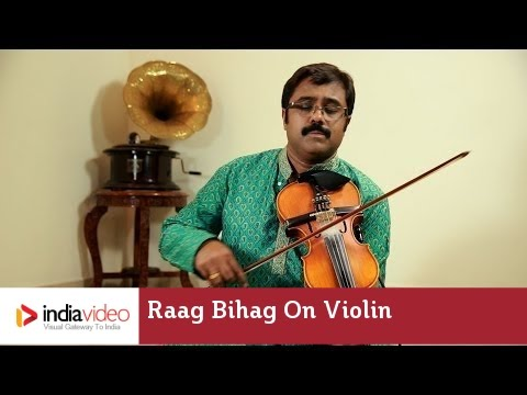 Raga Series - Raag Bihag on Violin by Jayadevan