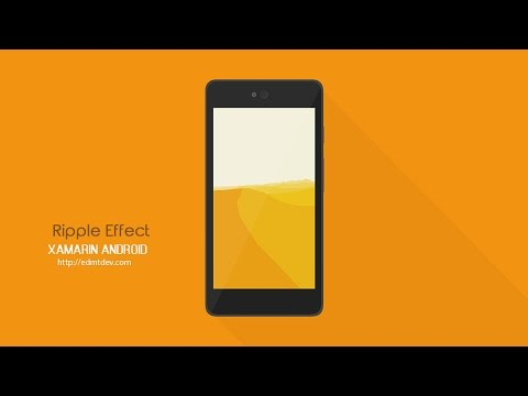 Xamarin Android Tutorial - Ripple Effect