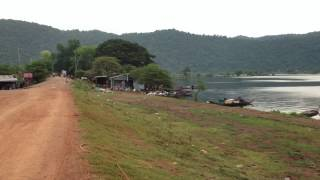 Landscape and people livelihood of Komping Puoy Reservoir ទេសភាពនិងជីវភាពរស់នៅប្រជាជនអាងកំពីងពួយ#1