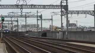 [団体貸切列車‼️『あおぞらⅡ』‼️]近鉄15200系『あおぞらⅡ』PN05編成(回送)八田駅  通過‼️