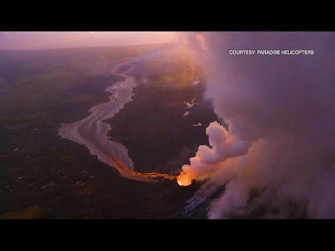 شاهد: إنخفاض حدة ثوران بركان كيلواي بجزيرة هاواي  - نشر قبل 5 ساعة