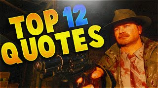 "Top 12 Funny and Cringy ""Jackie Vincent Quotes"" - New Zombie Character Quotes Series! (BO3 Zombies)"