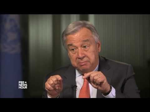U.N. Secretary-General Guterres: The world needs a U.S. that is engaged