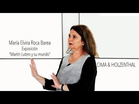 """María Elvira Roca Barea  """"Lutero y su mundo"""" (entrevista)"""