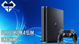 PLAYSTATION 4 SLIM - UNBOXING ITA