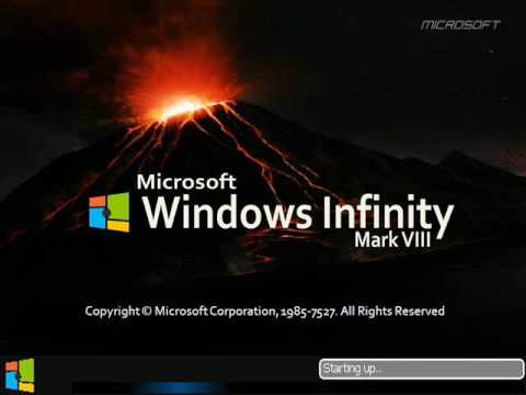Windows Infinity future service pack editions (2027 - 9462027)