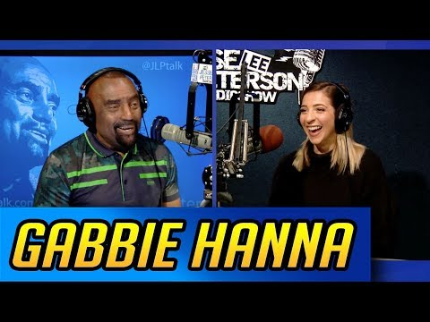 """GABBIE HANNA of """"THE GABBIE SHOW"""" stops by and talks to black Conservative Jesse Lee Peterson!"""