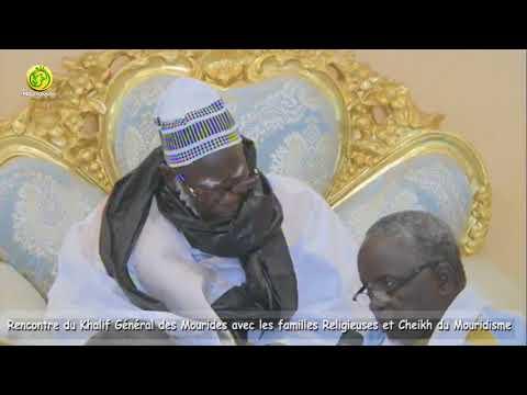 L'intégralité de la déclaration du Khalife Générale des Mourides Serigne Mountakha MBACKE