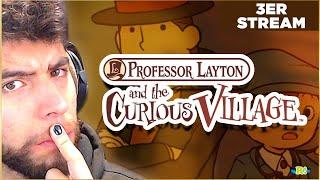 A RESOLVERLOS TODOS!! PROFESOR LAYTON Y LA VILLA MISTERIOSA ( 3er Stream )