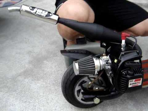 Go Ped G260rc With Jad Racing Pipe Goped Philippines