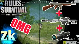 Barret With Thompson / Rules Of Survival Battle Royal