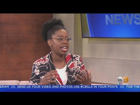 NCIS Star, Dinona Reasonover Live On KCAL9 News