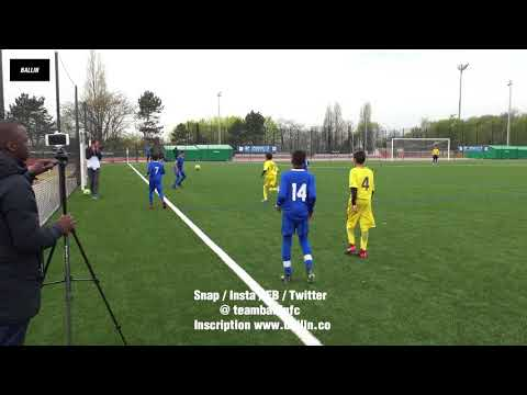 2018 04 14 U13 JOINVILLE CUP 2018 PARIS SG vs ENTENTE SANNOIS