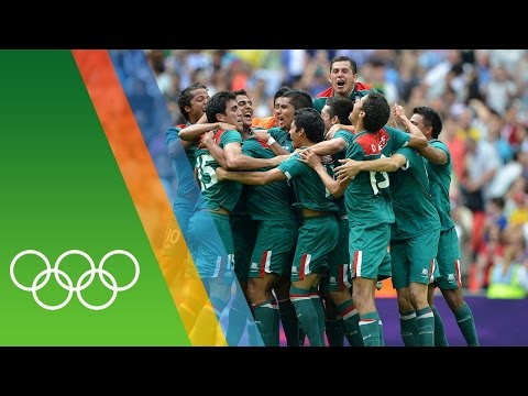 Mexico win Football gold at London 2012 | Countdown to 2016