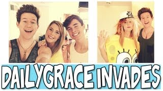 DAILYGRACE INVADES THE O2L HOUSE