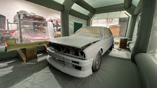 Finally Painting the E30!!!