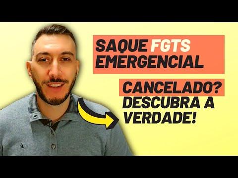 Saque FGTS 1045 cancelado? Saque emergencial FGTS 1045, como é o saque emergencial e o cancelamento?