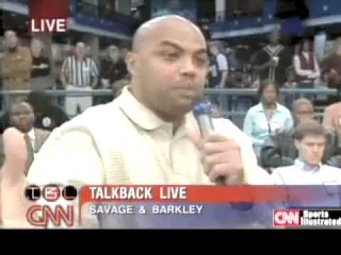 Michael Savage VS Charles Barkley on Immigration in 2003