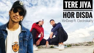 TERE JEYA HOR DISDA - Dance Cover | VinDeep x Electrokatty | Do Not Miss The End 💪 ( Electro Dance)