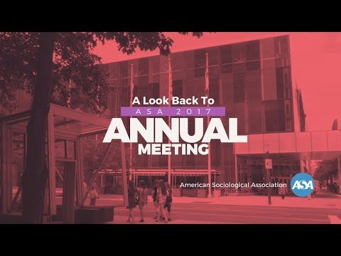 A Look Back At The ASA 2017 Annual Meeting