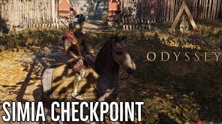 ASSASSIN'S CREED ODYSSEY GAMEPLAY - Simia Checkpoint (PS4, Xbox One)