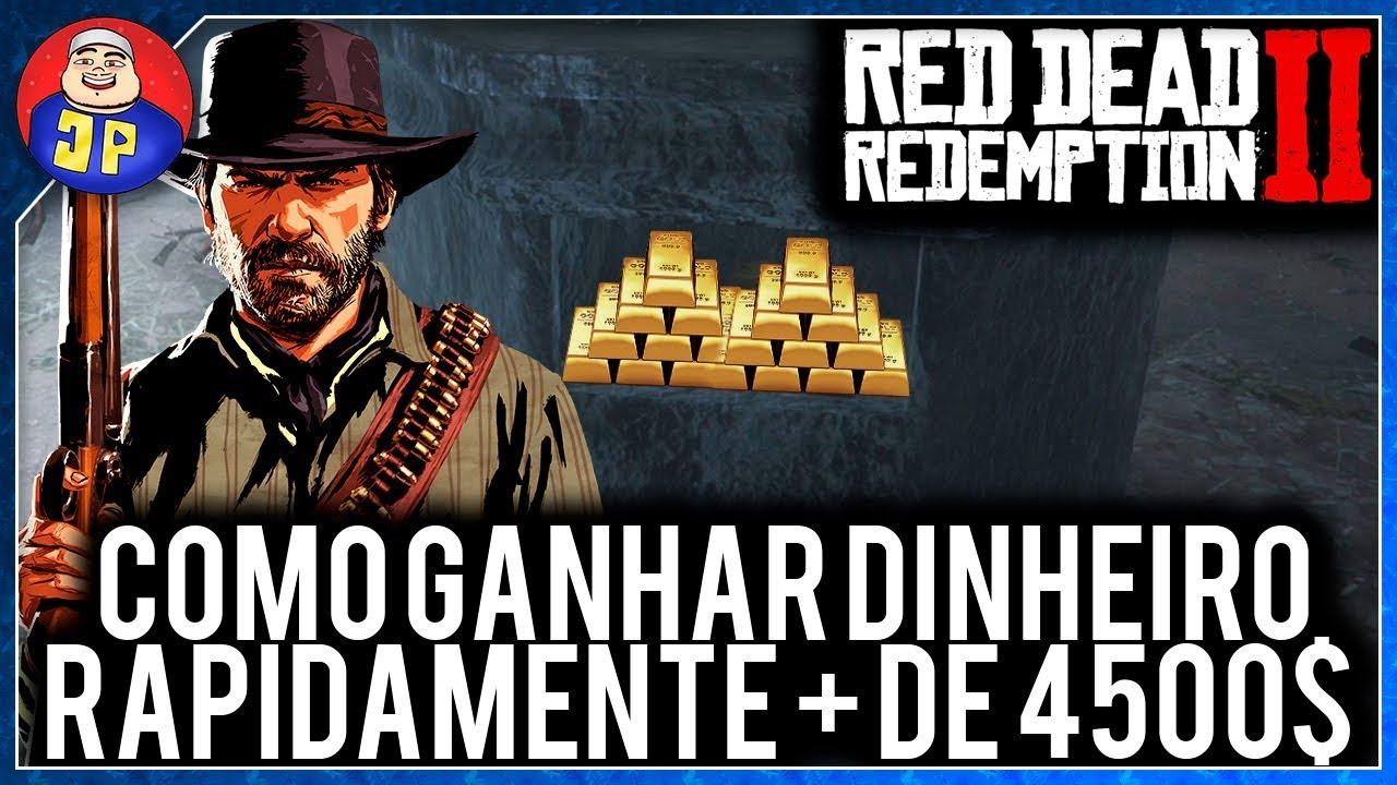 Guia Red Dead Redemption 2 Como Ganhar Dinheiro Rapidamente (Mais de 4500$)