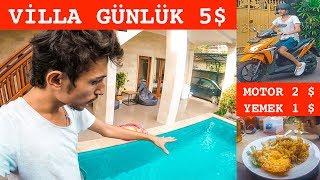 Günde 10 Dolara Krallar gibi Yaşamak - Bali Adası Ev Turu
