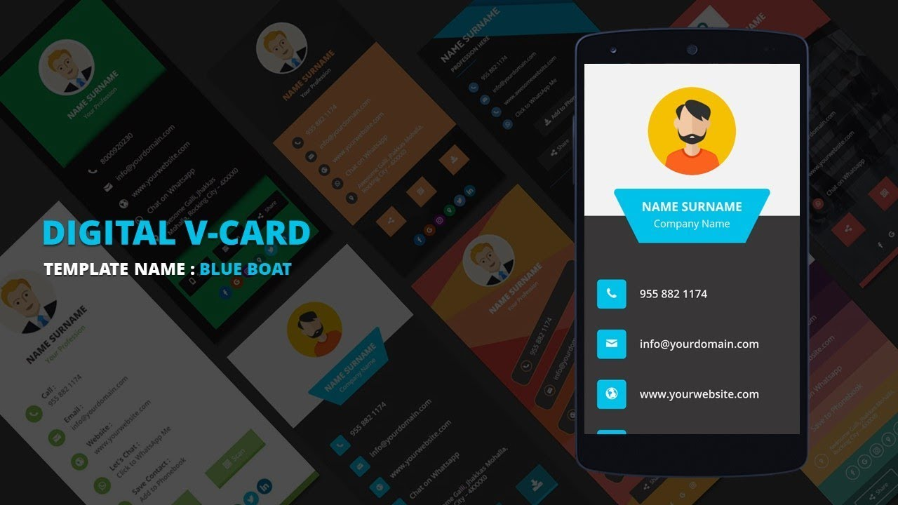 Business card maker make my vcard youtube business card maker make my vcard colourmoves