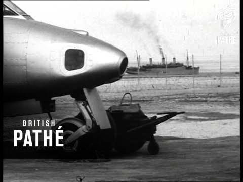 RAF Exercise 'hightime' In Canal Zone (1952)