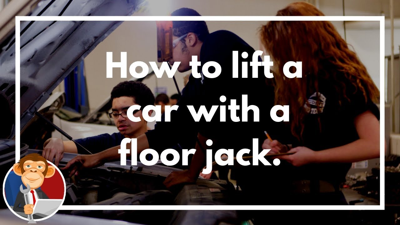 How To Lift A Car With A Floor Jack And Jack Stands Diy