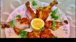 How to make Spicy Grilled Chicken Legs using Gowtham steel crisper tray -Mana Home Food