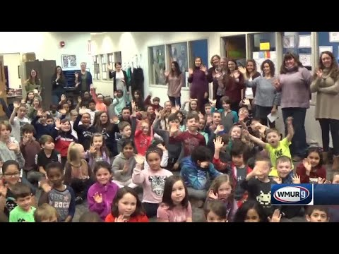 School visit: Mill Falls Charter School in Manchester