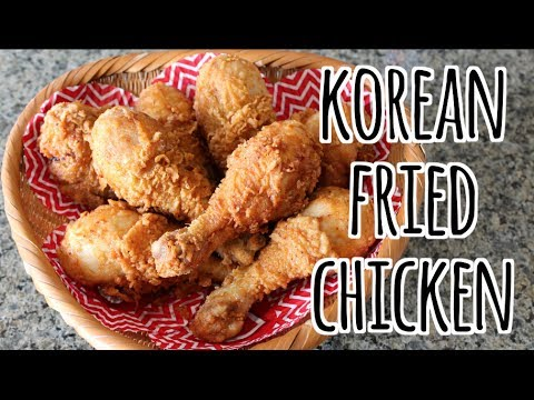Korean Fried Chicken Using Mix 치맥 Chimaek My Love From
