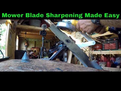 How To Sharpen Mower Blades | All American Blade Sharpener