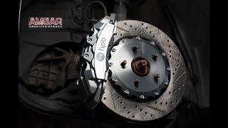 Upgrade передних тормозов Lexus ES250. Замена тормозной системы
