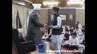 Gulshan-e-Waqf e Nau (Atfal of Germany) Class: 7th April 2012 (Urdu)