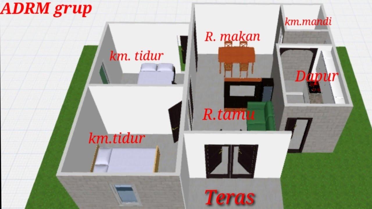 Denah Rumah 21x21 ~ 21+ images desain denah rumah minimalis desain ...