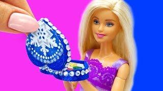 Barbie Doll Makeup Set . DIY for Kids. How to Make Miniature Crafts
