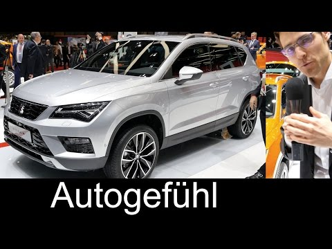 REVIEW Seat Ateca first Exterior/Interior rating & Interview technology neu new 2017 SUV