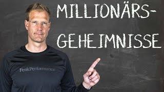 3 GEHEIMNISSE die nur MILLIONÄRE kennen