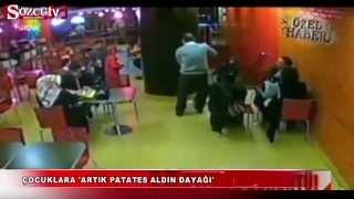 Burger King Suriyeli Çocuğun Dayak Görüntüleri