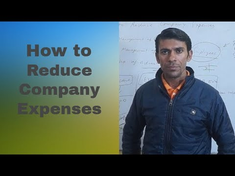 How to Reduce Company Expenses