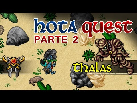 Tibia: Faraón Thalas - The Ancient Tombs Quest - Parte 2