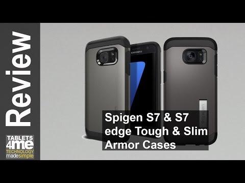 21d9b01e9bb Spigen Tough Armor and Slim Armor Cases for the Samsung Galaxy S7 & S7 Edge  - YouTube