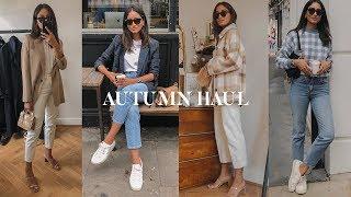 AUTUMN HAUL | SÉZANE, MISSOMA, H&M, ZARA LOOKBOOK
