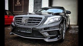 Тюнинг Mercedes-Benz W222 Brabus Rocket (полная версия) - Киев