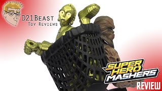Star Wars Hero Mashers C-3PO and Chewbacca Review