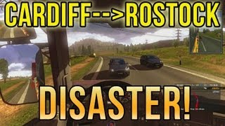 One of Squirrel's most viewed videos: Cardiff to Rostock DISASTER! (Euro Truck Simulator 2) ETS2