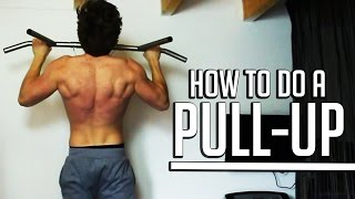 Can't Do Pull Ups? Do THIS! (HOW TO DO YOUR FIRST PULLUP!) - How To Start Calisthenics