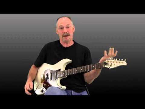 Blues scales basics on guitar